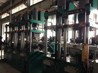 China Manual 100 Ton Four Column Hydraulic Press Machine Multifunctional High Rigidity supplier
