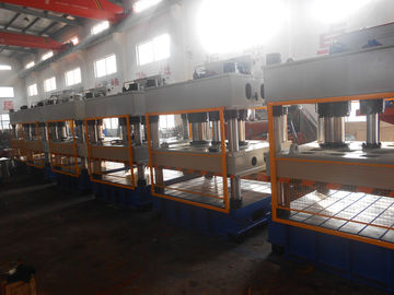 China 400 Ton Servo Hydraulic Hot Press Molding Machine For Composite Material supplier