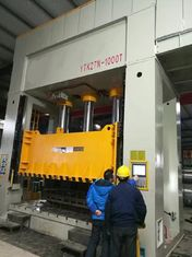 1000 Ton Deep Drawing H Frame Hydraulic Press Machine PLC Control