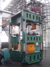 China Compact  1000T Hydraulic Oil Press , Double Action Hydraulic Drawing Press supplier