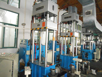 China Y27 315T Four Post Hydraulic Press Machine , Multi Purpose Hydraulic Press PLC Control supplier