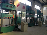 China 400T Vertical Four Column Hydraulic Press For Drawing Button Operation factory