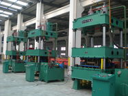 China Metal Forming Four Column Hydraulic Press 500 Ton Servo System Electric Power Saving factory
