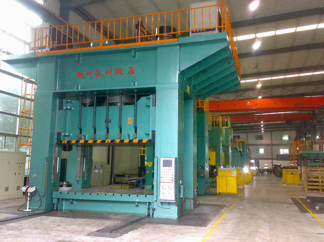 Light Curtain Protection H Frame Hydraulic Press Machine 2000 Ton Nominal  Force