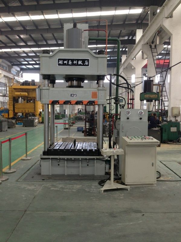 Vertical Semi Automatic Hydraulic Press Equipment For Cooking Pot And Kettle