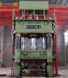 1250 Ton Open Die Forging Press Hydraulic Forging Press Pre Stressed Straight Side Structure