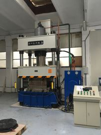 Fully Automatic 400 Ton Hydraulic Press Machine , Four Column Hydraulic Press